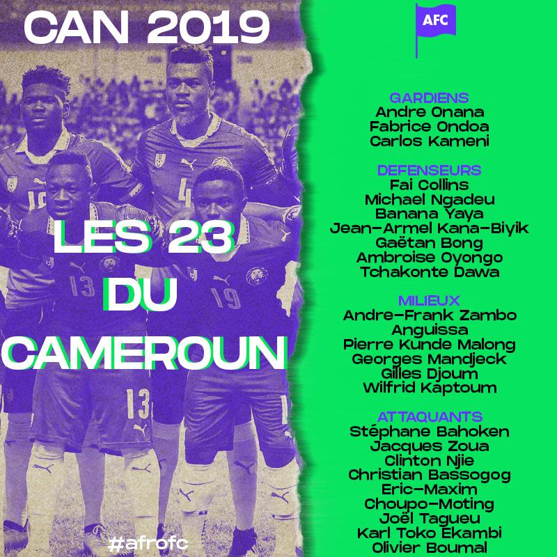 23 CAMEROUN